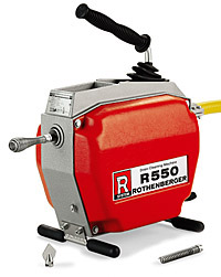 Ridgid R 550 Drain cleaning Machine