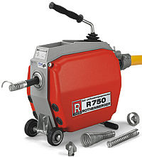 Ridgid R 750 Drain cleaning Machine