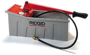 Ridgid Hydrostatic Test Pump